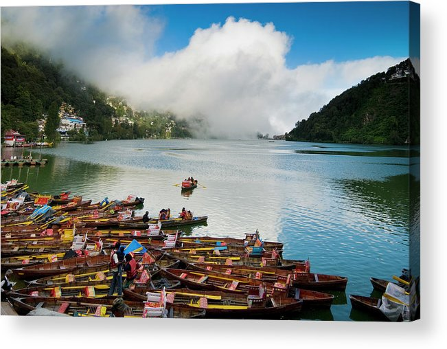 Outdoors Acrylic Print featuring the photograph Nainital, Uttrakhand, India by Jitendra Singh Is A New Delhi / Shimla Based Photojournalist