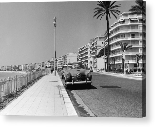 Scenics Acrylic Print featuring the photograph Nice Seafront by Fpg