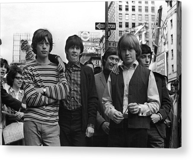 Rock Music Acrylic Print featuring the photograph Rolling Stones by William Lovelace