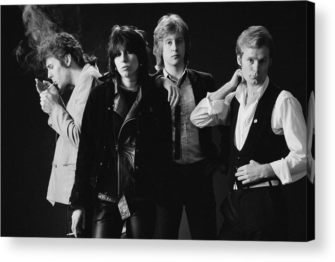 People Acrylic Print featuring the photograph The Pretenders by Fin Costello