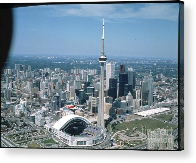 American League Baseball Acrylic Print featuring the photograph Toronto Blue Jays by Mlb Photos