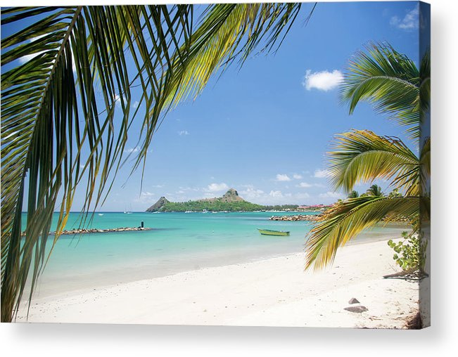 Scenics Acrylic Print featuring the photograph Travel Destination - Pigeon Island St by Jaminwell