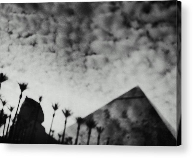 Hotel Acrylic Print featuring the photograph Usa,nevada,las Vegas,luxor Hotel by Seth Joel