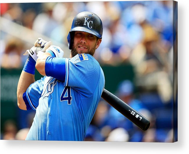 American League Baseball Acrylic Print featuring the photograph Alex Gordon by Jamie Squire