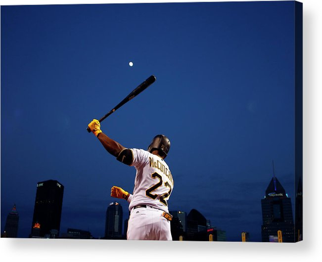 Andrew Mccutchen Acrylic Print featuring the photograph Andrew Mccutchen by Justin K. Aller