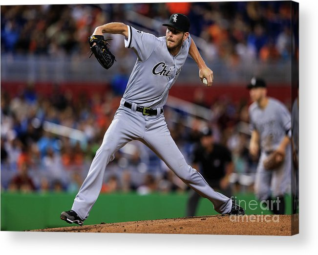 People Acrylic Print featuring the photograph Chris Sale by Rob Foldy