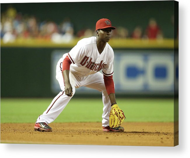 Motion Acrylic Print featuring the photograph Didi Gregorius by Christian Petersen