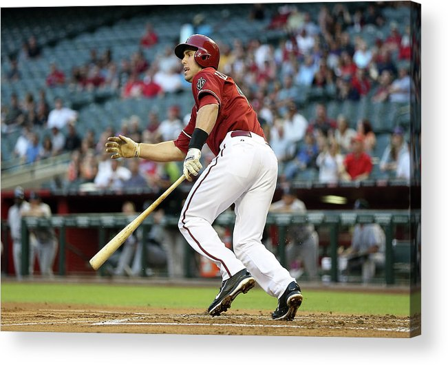 National League Baseball Acrylic Print featuring the photograph Paul Goldschmidt by Christian Petersen