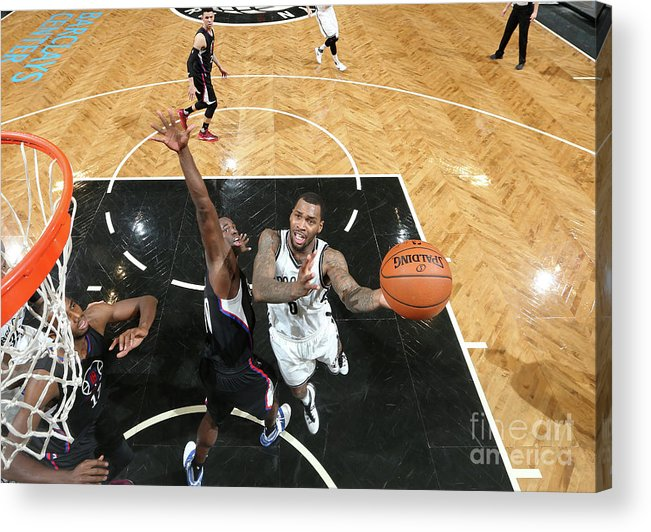 Nba Pro Basketball Acrylic Print featuring the photograph Sean Kilpatrick by Nathaniel S. Butler
