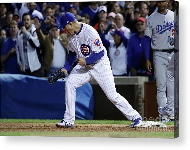 Championship Acrylic Print featuring the photograph Anthony Rizzo by Jonathan Daniel