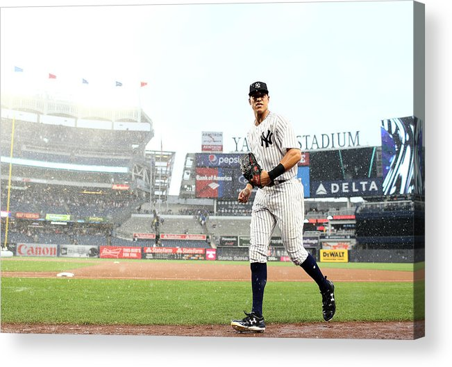 People Acrylic Print featuring the photograph Aaron Judge by Elsa