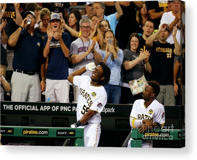 Three Quarter Length Acrylic Print featuring the photograph Josh Bell by Justin K. Aller