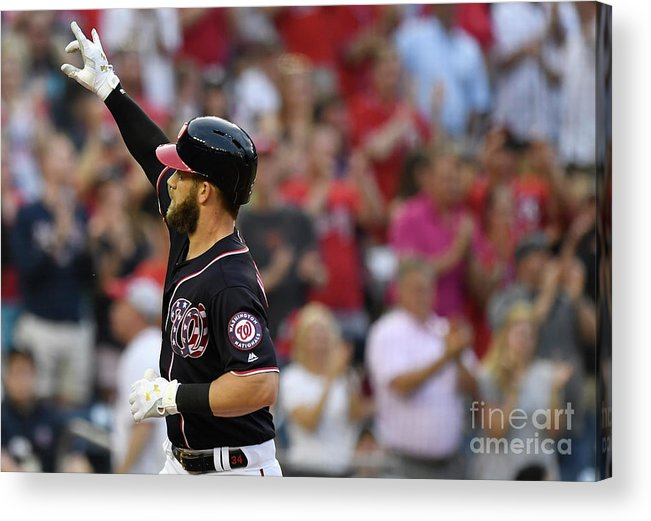 People Acrylic Print featuring the photograph Bryce Harper by Patrick Mcdermott