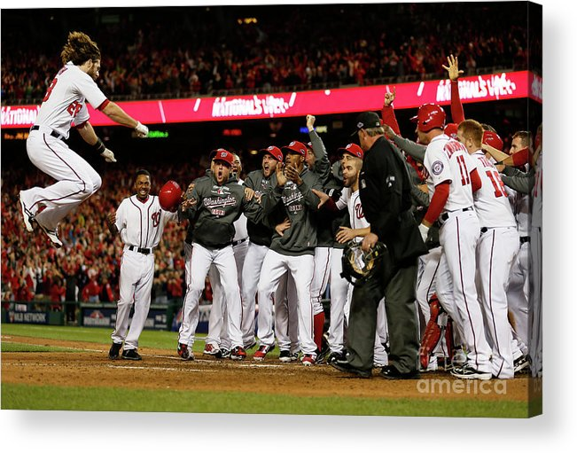 Playoffs Acrylic Print featuring the photograph Jayson Werth by Rob Carr