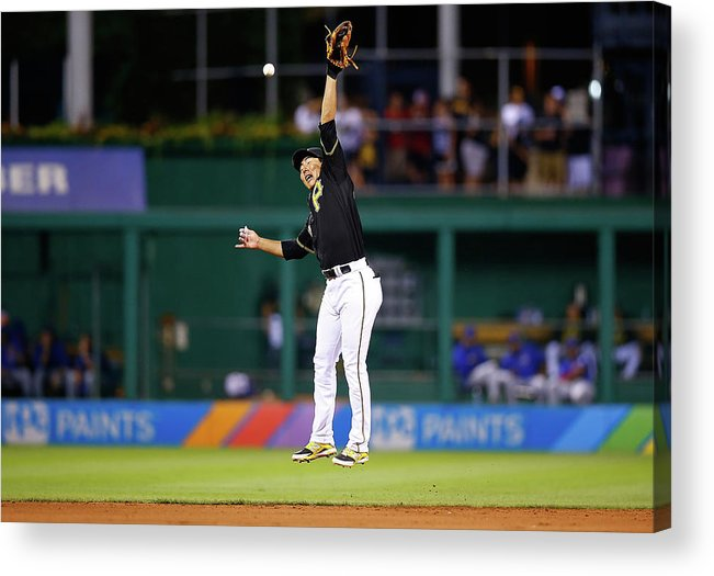 People Acrylic Print featuring the photograph Jung Ho Kang by Jared Wickerham