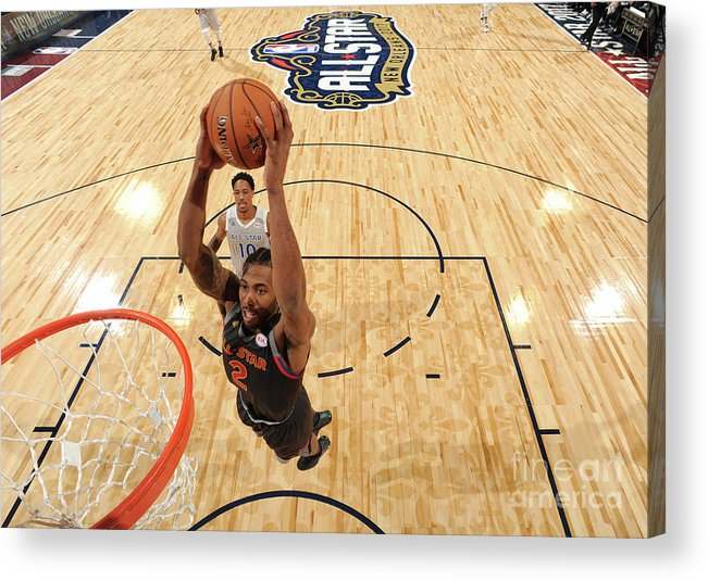 Event Acrylic Print featuring the photograph Kawhi Leonard by Andrew D. Bernstein