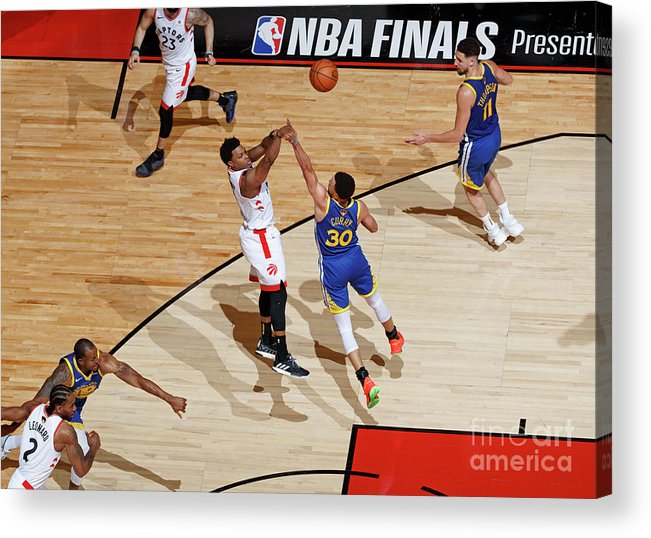 Playoffs Acrylic Print featuring the photograph Kyle Lowry by Mark Blinch