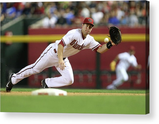 Catching Acrylic Print featuring the photograph Paul Goldschmidt by Christian Petersen