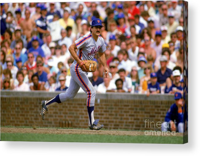 1980-1989 Acrylic Print featuring the photograph Keith Hernandez by Ron Vesely