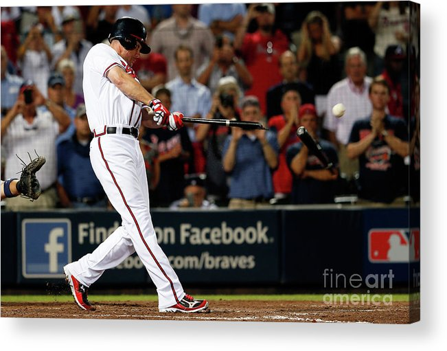 Atlanta Acrylic Print featuring the photograph Chipper Jones by Kevin C. Cox