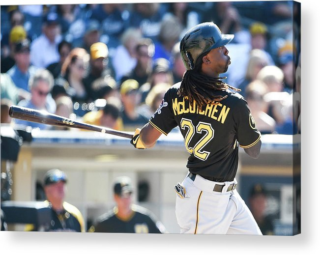 California Acrylic Print featuring the photograph Andrew Mccutchen by Denis Poroy