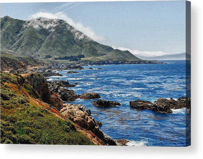 Photograph Acrylic Print featuring the photograph Big Sur 1 by Joanne Mason