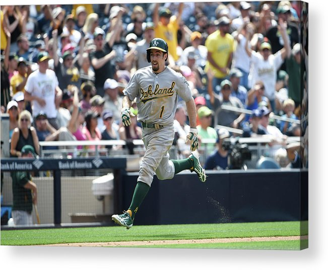 Ninth Inning Acrylic Print featuring the photograph Billy Burns by Denis Poroy