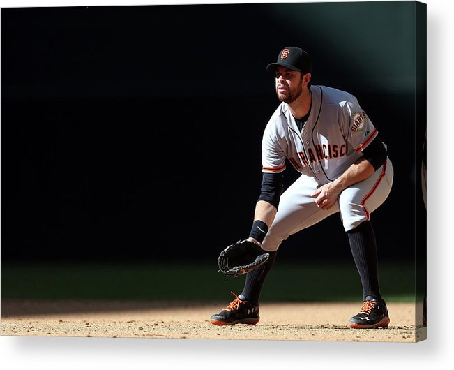 Motion Acrylic Print featuring the photograph Brandon League by Christian Petersen