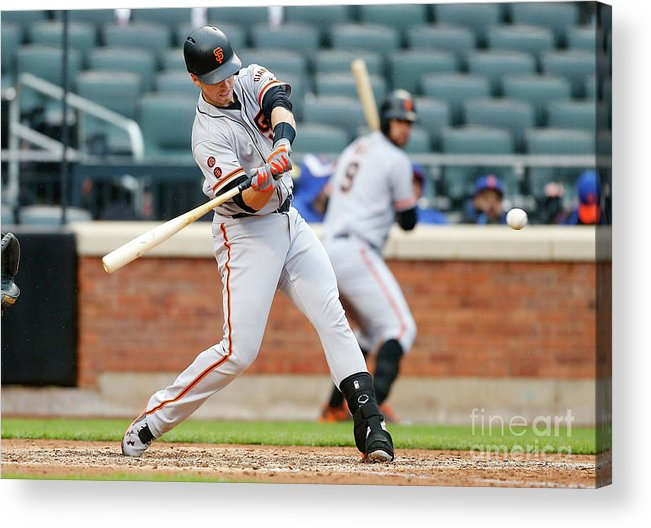 People Acrylic Print featuring the photograph Buster Posey by Jim Mcisaac