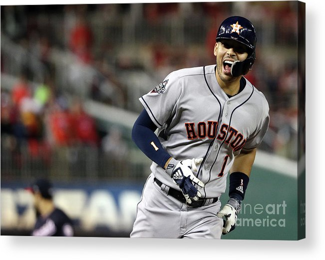 Three Quarter Length Acrylic Print featuring the photograph Carlos Correa by Patrick Smith