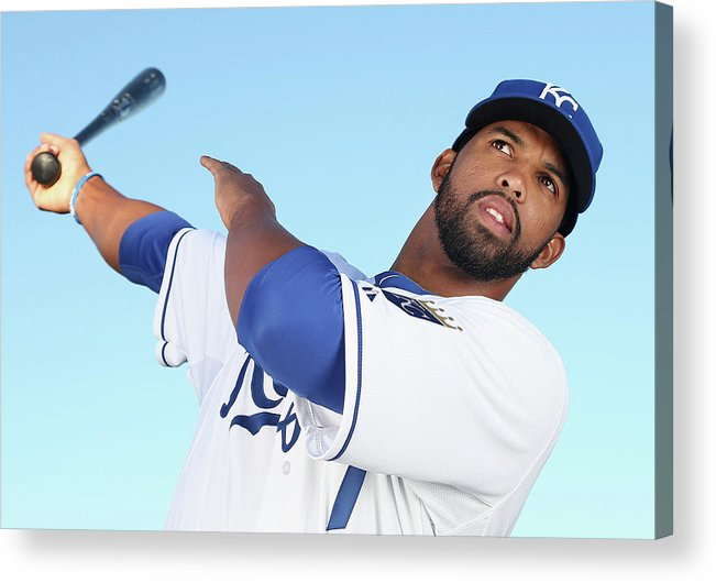 Media Day Acrylic Print featuring the photograph Carlos Peguero by Christian Petersen