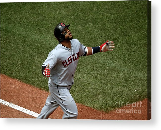 Three Quarter Length Acrylic Print featuring the photograph Carlos Santana by Tom Szczerbowski