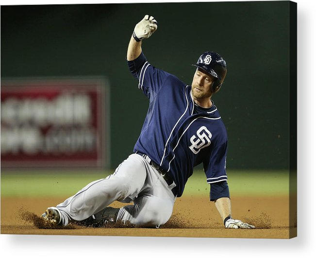 Motion Acrylic Print featuring the photograph Chase Headley by Christian Petersen