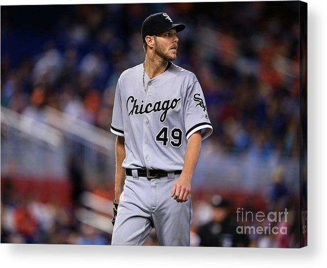 Three Quarter Length Acrylic Print featuring the photograph Chris Sale by Rob Foldy