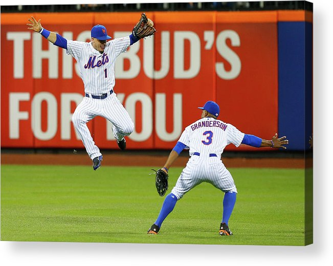 People Acrylic Print featuring the photograph Curtis Granderson by Jim Mcisaac