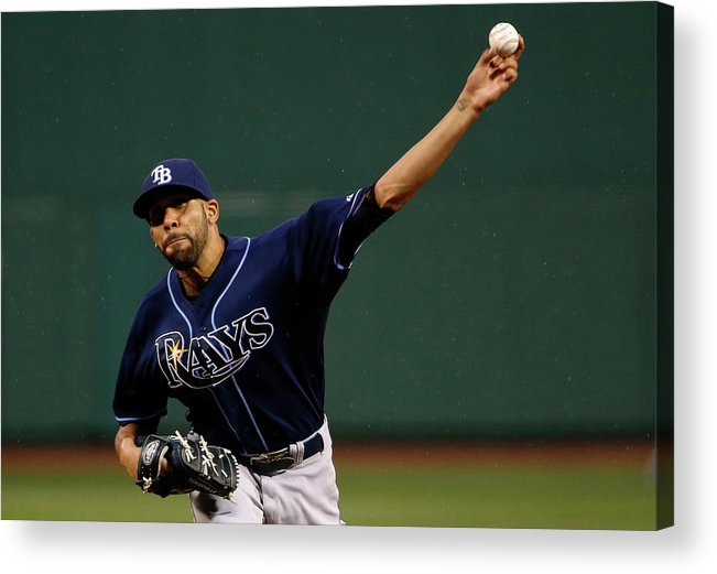 David Price Acrylic Print featuring the photograph David Price by Winslow Townson