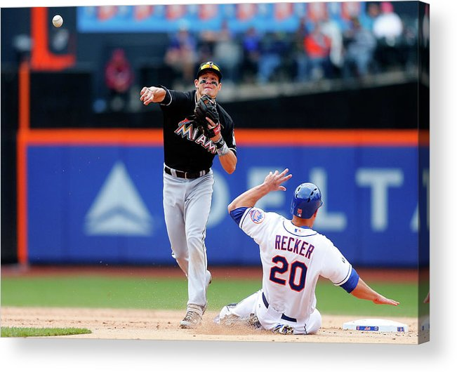 Double Play Acrylic Print featuring the photograph Derek Dietrich by Jim Mcisaac