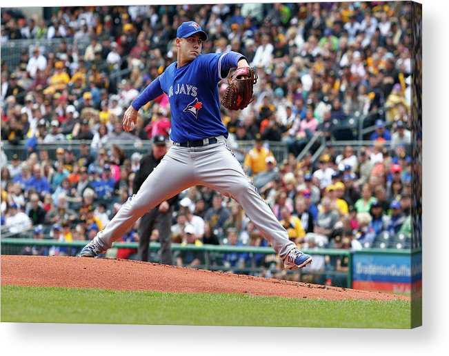 Professional Sport Acrylic Print featuring the photograph Dustin Mcgowan by Justin K. Aller