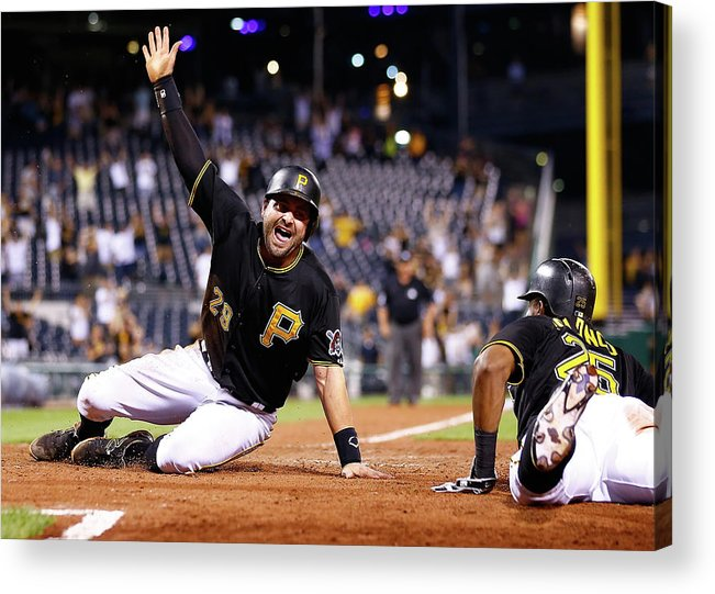 People Acrylic Print featuring the photograph Francisco Cervelli by Jared Wickerham