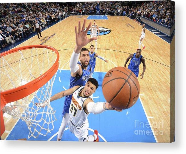 Nba Pro Basketball Acrylic Print featuring the photograph Jamal Murray by Glenn James