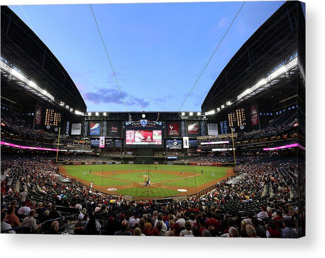 Motion Acrylic Print featuring the photograph James Mcdonald by Christian Petersen