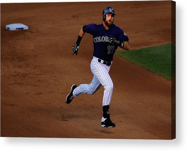 People Acrylic Print featuring the photograph John Lackey by Doug Pensinger