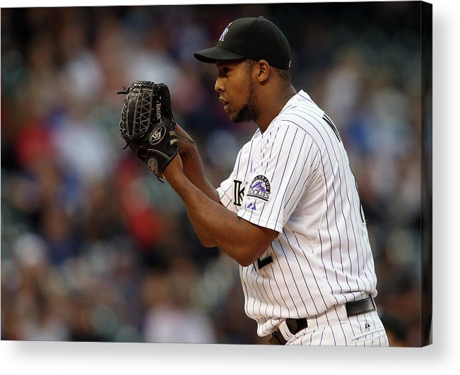 Working Acrylic Print featuring the photograph Juan Nicasio by Doug Pensinger