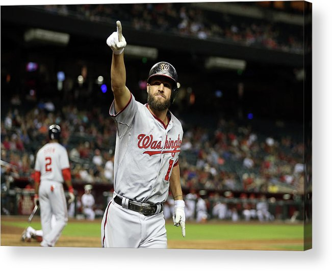 Ninth Inning Acrylic Print featuring the photograph Kevin Frandsen by Christian Petersen