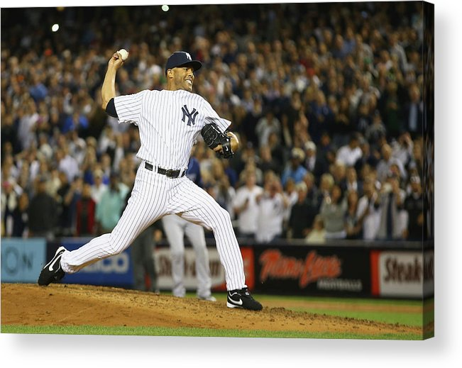 Ninth Inning Acrylic Print featuring the photograph Mariano Rivera by Al Bello