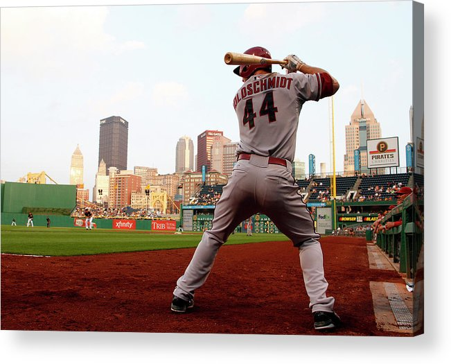Professional Sport Acrylic Print featuring the photograph Paul Goldschmidt by Justin K. Aller