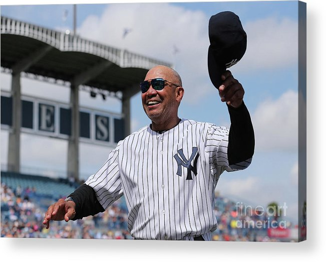 Crowd Acrylic Print featuring the photograph Reggie Jackson by Leon Halip