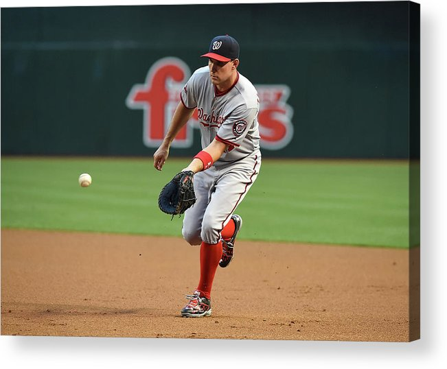 Second Inning Acrylic Print featuring the photograph Ryan Zimmerman by Norm Hall