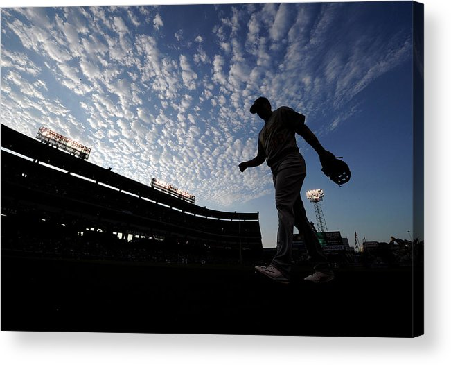 Ryon Healy Acrylic Print featuring the photograph Ryon Healy by Kevork Djansezian