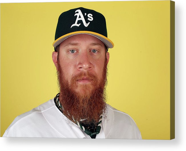 Media Day Acrylic Print featuring the photograph Sean Doolittle by Christian Petersen
